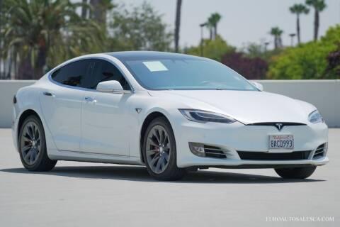 2017 Tesla Model S for sale at Euro Auto Sales in Santa Clara CA