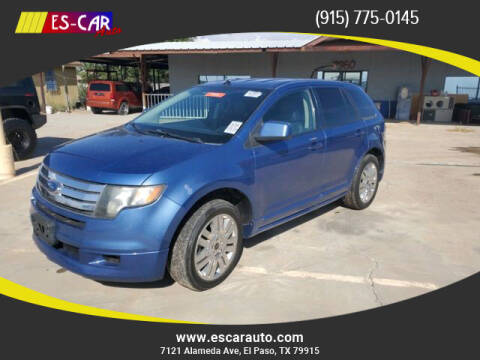 2010 Ford Edge for sale at Escar Auto in El Paso TX