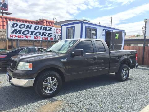 2005 Ford F-150 for sale at DON DIAZ MOTORS in San Diego CA