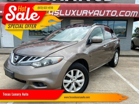 2011 Nissan Murano for sale at Texas Luxury Auto in Cedar Hill TX