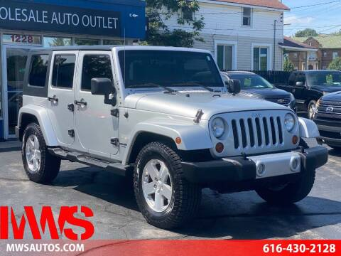 2008 Jeep Wrangler Unlimited for sale at MWS Wholesale  Auto Outlet in Grand Rapids MI