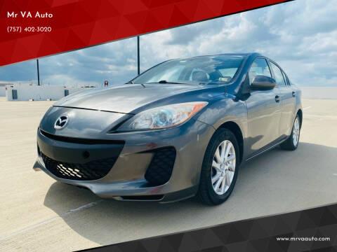 2012 Mazda MAZDA3 for sale at Mr VA Auto in Chesapeake VA