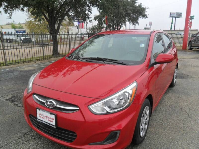 2017 Hyundai Accent for sale at Talisman Motor City in Houston TX