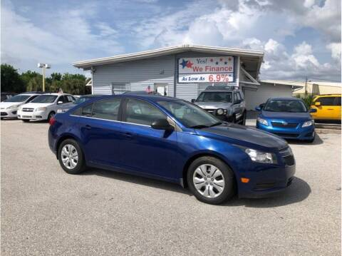 2012 Chevrolet Cruze for sale at My Value Car Sales in Venice FL