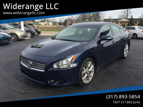 2010 Nissan Maxima for sale at Widerange LLC in Greenwood IN