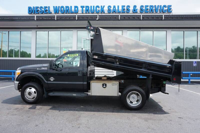 2012 Ford F-350 Super Duty for sale at Diesel World Truck Sales - Dump Truck in Plaistow NH