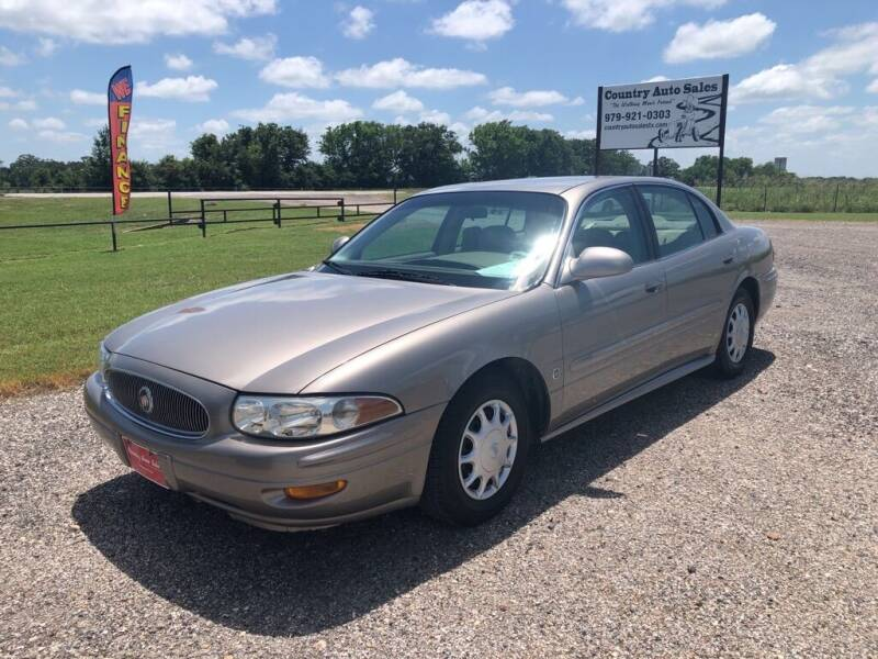 2004 Buick LeSabre for sale at COUNTRY AUTO SALES in Hempstead TX