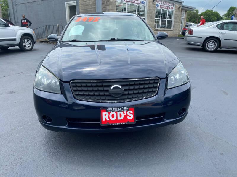 2006 Nissan Altima for sale at Rod's Automotive in Cincinnati OH