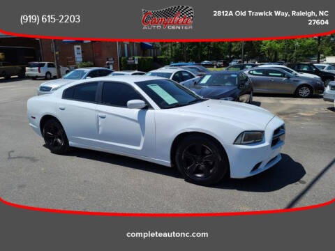 2013 Dodge Charger for sale at Complete Auto Center , Inc in Raleigh NC