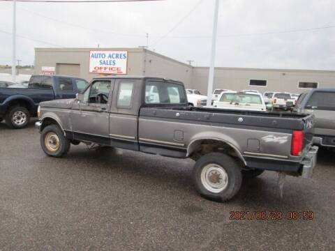 1993 Ford F-250 for sale at Auto Acres in Billings MT