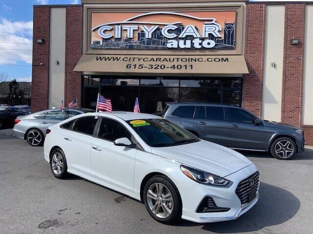 2018 Hyundai Sonata for sale at CITY CAR AUTO INC in Nashville TN