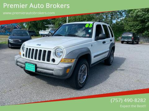 2005 Jeep Liberty for sale at Premier Auto Brokers in Virginia Beach VA