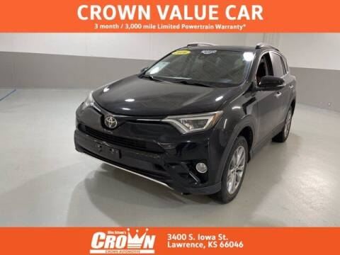 2016 Toyota RAV4 for sale at Crown Automotive of Lawrence Kansas in Lawrence KS