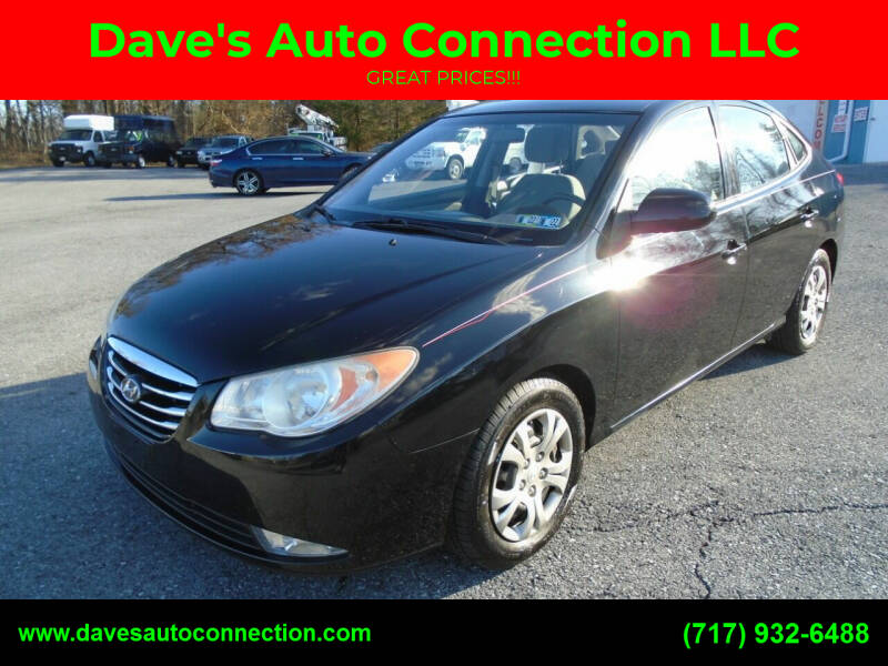 2010 Hyundai Elantra for sale at DAVES AUTO CONNECTION in Etters PA