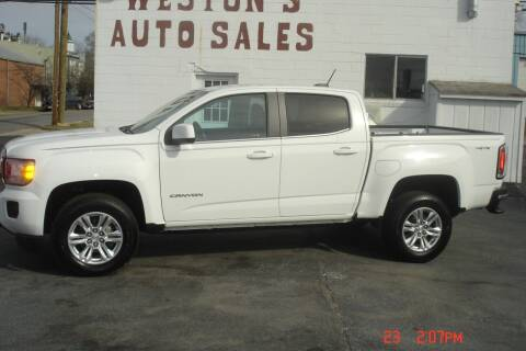 2019 GMC Canyon for sale at Weston's Auto Sales, Inc in Crewe VA