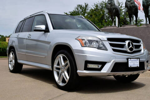 2012 Mercedes-Benz GLK for sale at European Motor Cars LTD in Fort Worth TX