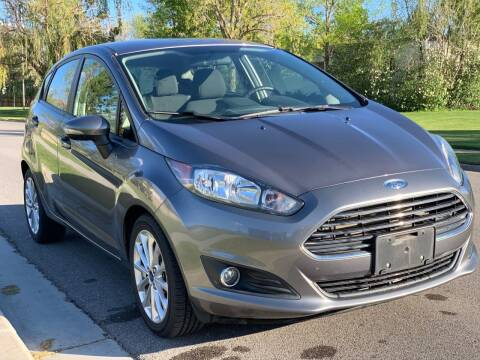 2014 Ford Fiesta for sale at A.I. Monroe Auto Sales in Bountiful UT