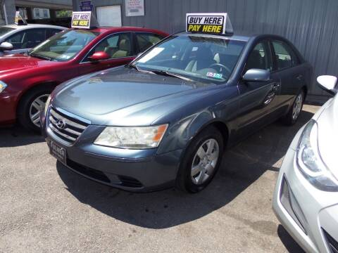 2009 Hyundai Sonata for sale at Fulmer Auto Cycle Sales - Fulmer Auto Sales in Easton PA