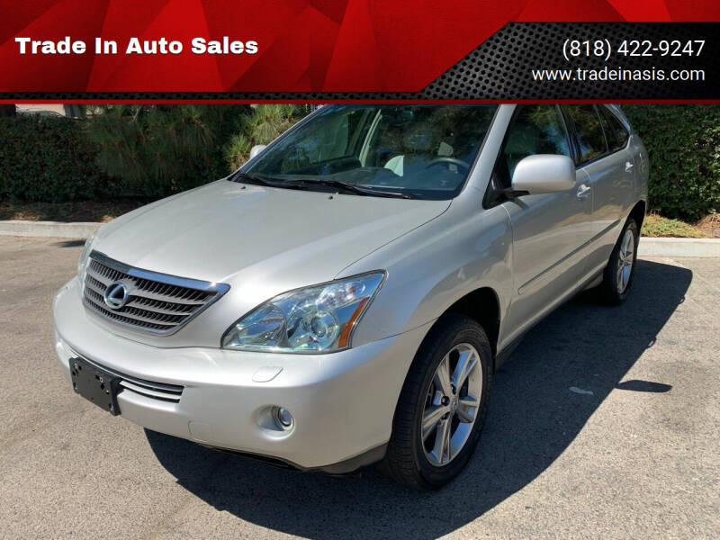2006 Lexus RX 400h for sale at Trade In Auto Sales in Van Nuys CA
