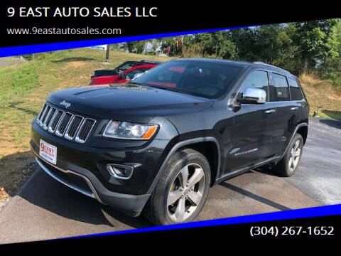 2014 Jeep Grand Cherokee for sale at 9 EAST AUTO SALES LLC in Martinsburg WV