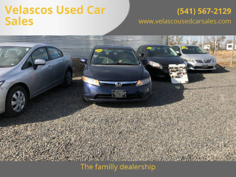 2008 Honda Civic for sale at Velascos Used Car Sales in Hermiston OR