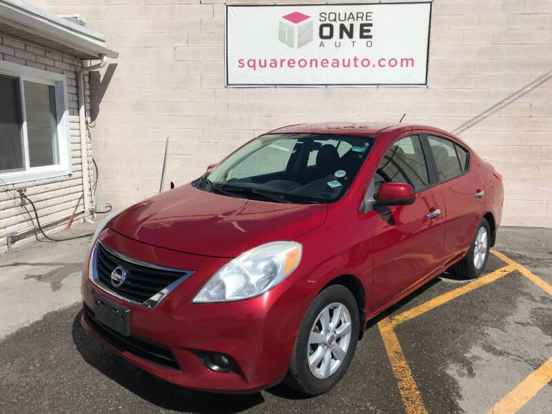 2012 Nissan Versa for sale at SQUARE ONE AUTO LLC in Murray UT