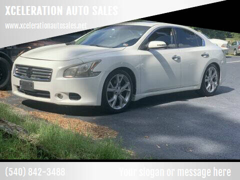 2011 Nissan Maxima for sale at XCELERATION AUTO SALES in Chester VA
