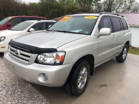 2007 Toyota Highlander for sale at R.E.D. Auto Sales LLC in Joplin MO