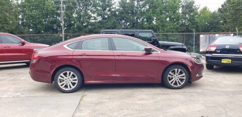 2015 Chrysler 200 for sale at On The Road Again Auto Sales in Doraville GA