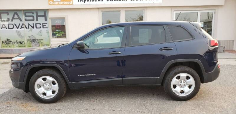 2016 Jeep Cherokee for sale at HomeTown Motors in Gillette WY