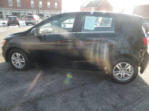 2012 Chevrolet Sonic for sale at Kingdom Auto Centers in Litchfield IL