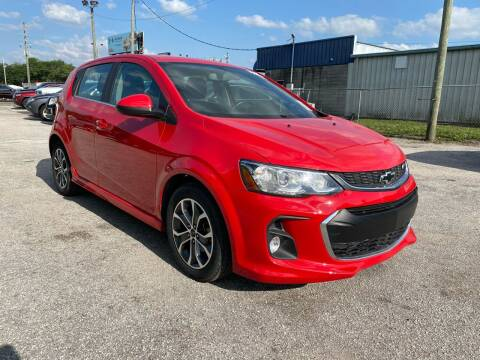 2018 Chevrolet Sonic for sale at Marvin Motors in Kissimmee FL