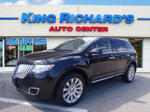 2011 Lincoln MKX for sale at KING RICHARDS AUTO CENTER in East Providence RI