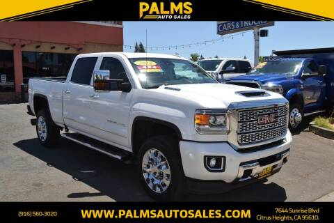 2018 GMC Sierra 2500HD for sale at Palms Auto Sales in Citrus Heights CA