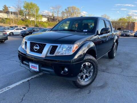 2016 Nissan Frontier for sale at Sonias Auto Sales in Worcester MA