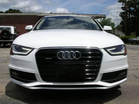 2015 Audi A4 for sale at South Atlanta Motorsports in Mcdonough GA