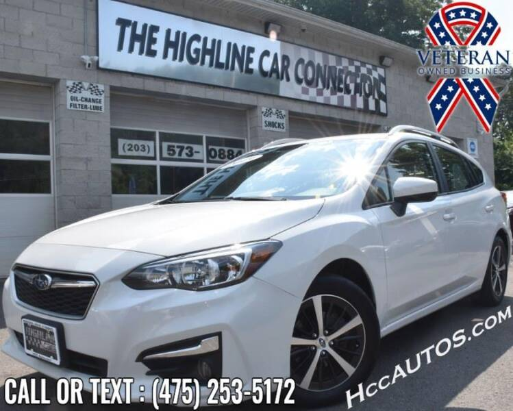 2019 Subaru Impreza for sale at The Highline Car Connection in Waterbury CT