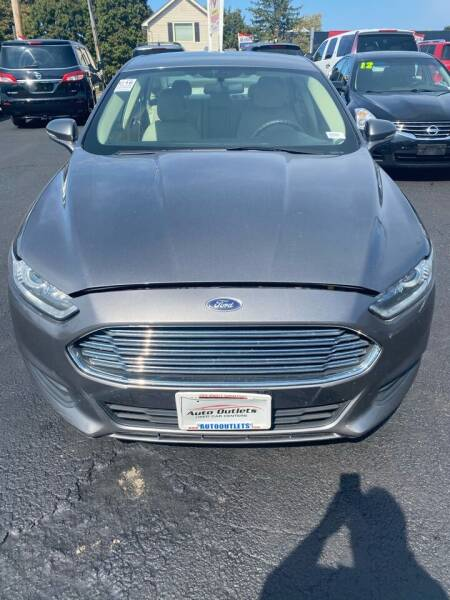 2014 Ford Fusion for sale at Right Choice Automotive in Rochester NY