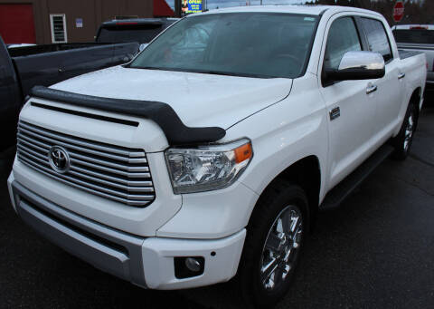 2015 Toyota Tundra for sale at J.K. Thomas Motor Cars in Spokane Valley WA