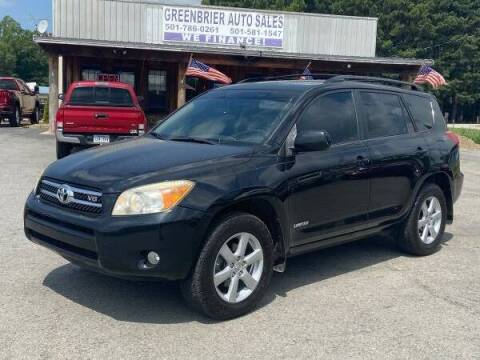 2007 Toyota RAV4 for sale at Greenbrier Auto Sales in Greenbrier AR