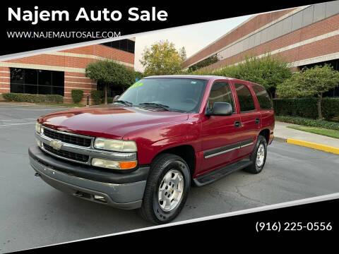 2004 Chevrolet Tahoe for sale at Najem Auto Sale in Sacramento CA
