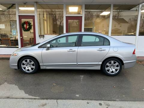2010 Honda Civic for sale at O'Connell Motors in Framingham MA