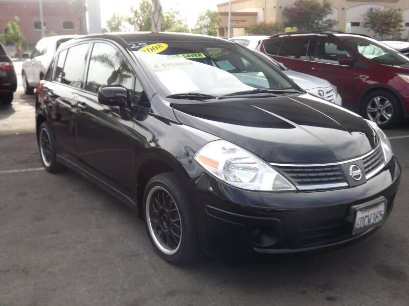 2008 Nissan Versa for sale at PACIFICO AUTO SALES in Santa Ana CA