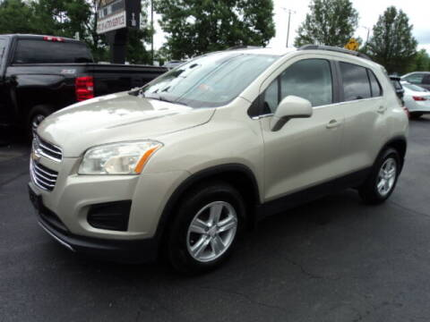 2016 Chevrolet Trax for sale at BATTENKILL MOTORS in Greenwich NY