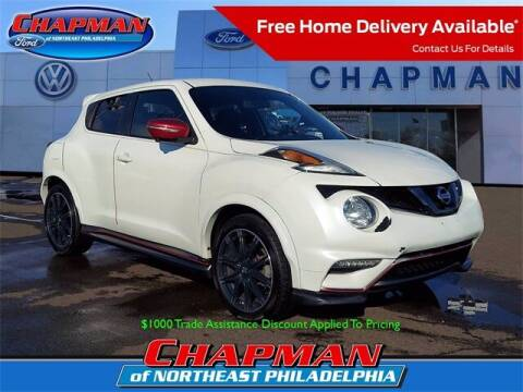 2017 Nissan JUKE for sale at CHAPMAN FORD NORTHEAST PHILADELPHIA in Philadelphia PA