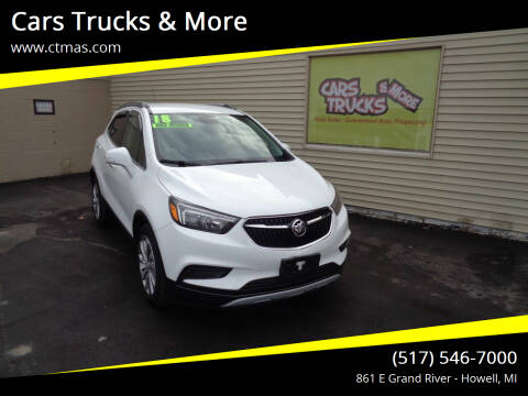 2018 Buick Encore for sale at Cars Trucks & More in Howell MI
