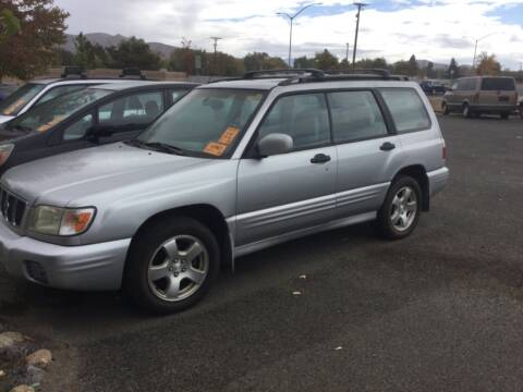 2002 Subaru Forester for sale at Small Car Motors in Carson City NV