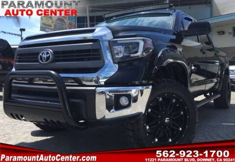 2015 Toyota Tundra for sale at PARAMOUNT AUTO CENTER in Downey CA