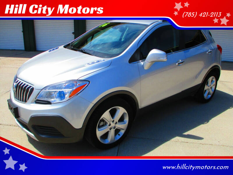 2016 Buick Encore for sale at Hill City Motors in Hill City KS