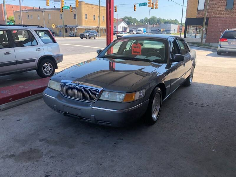 1998 Mercury Grand Marquis for sale at LINDER'S AUTO SALES in Gastonia NC